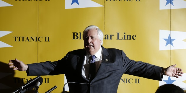 Australian billionaire Clive Palmer has sung his goodbyes to Cory Bernardi.