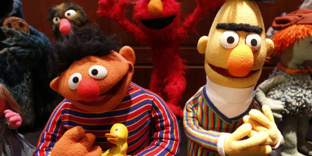 アーニー(左)とバート(右)