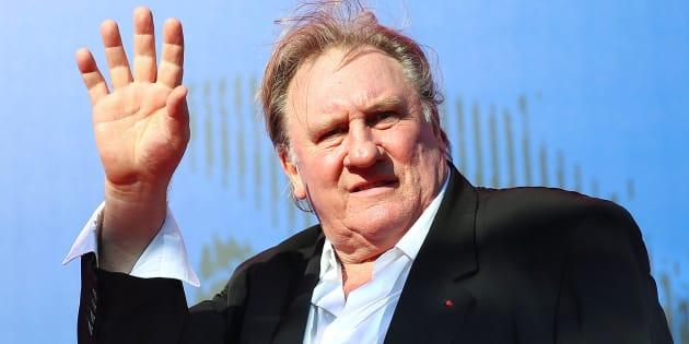 Gérard Depardieu annonce qu'il va s'installer à Alger. Ici à Venise en Septembre 2017