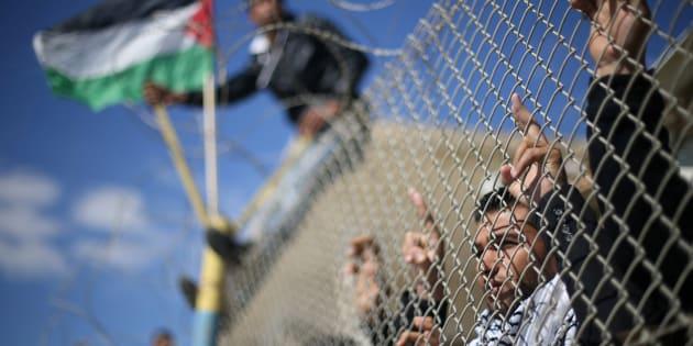 Un plan de paix juste entre Israël et Palestine, c'est possible!. REUTERS/Ibraheem Abu Mustafa TPX IMAGES OF THE DAY