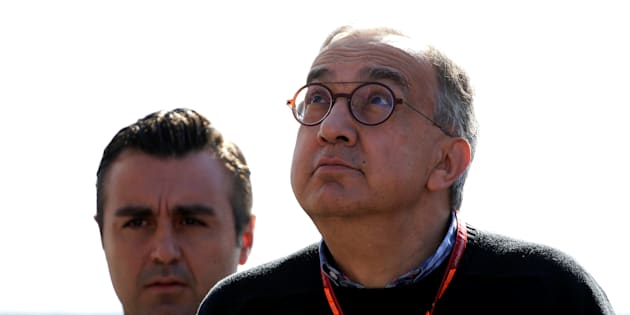Formula One - F1 - Italian Grand Prix 2017 - Monza, Italy - September 3, 2017   Ferrari president Sergio Marchionne arrives before the race   REUTERS/Max Rossi