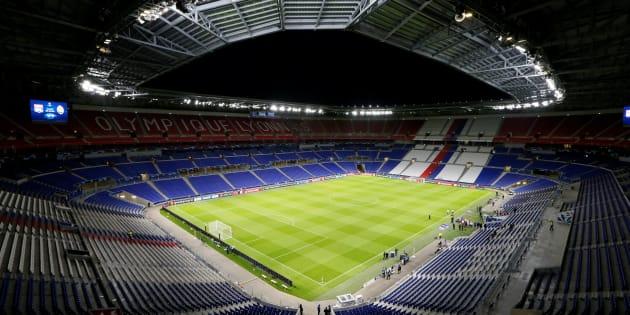 Le Groupama Stadium de Décines-Charpieu.