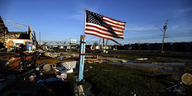 L'Ouragan Michael a fait au moins six morts.