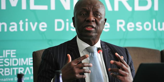 Former Deputy Chief Justice Dikgang Moseneke during the Life Esidimeni arbitration hearing at Emoyeni Conference Centre, Parktown on October 09, 2017.