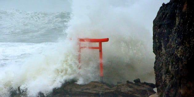 Long de la côte de Fukushima, le 30 août 2016 (illustration)