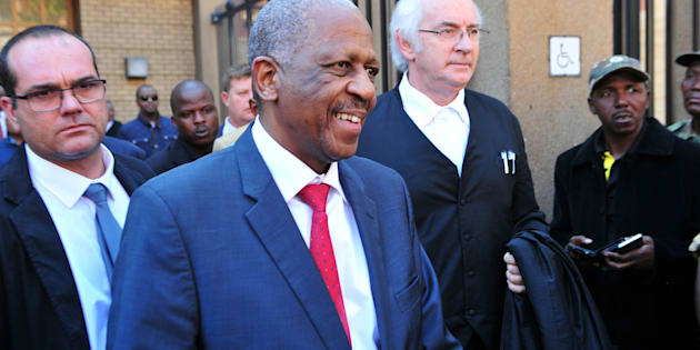 PRETORIA, SOUTPH AFRICA � MAY 12: ANC veteran Mathews Phosa outside the North Gauteng High Court during the hearing of a civil claim case between him and David Mabuza on May 12, 2016 in Pretoria, South Africa. Mabuza, the premier of Mpumalanga announced earlier this year that he planned to institute a R10 million defamation suit against Phosa for labelling him as an apartheid spy. (Photo by Gallo Images / Sowetan / Veli Nhlapho)