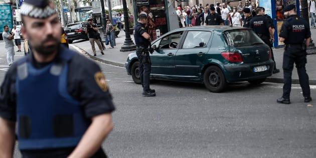 Un des suspects de l'attentat de Barcelone mis en examen et écroué en France