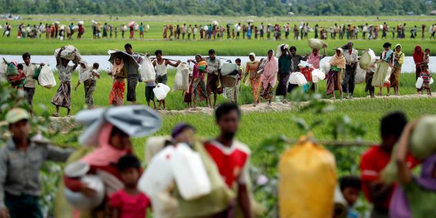 L'armée birmane reconnait pour la première fois avoir abattu des Rohingyas