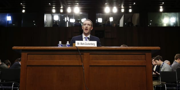 Facebook CEO Mark Zuckerberg testifies before a Senate Judiciary and Commerce Committees joint hearing regarding the company?s use and protection of user data on Capitol Hill in Washington, U.S., April 10, 2018.