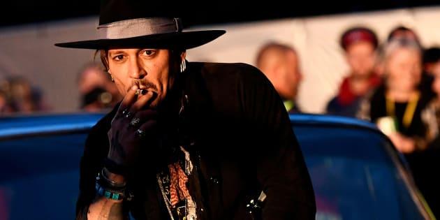 Johnny Depp-shock al festival Glastonbury: Assassinare Trump?