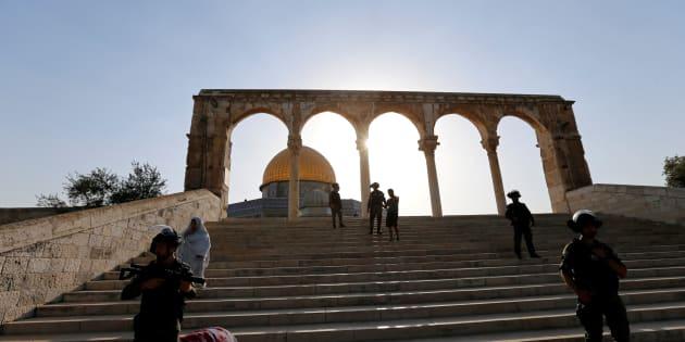 Établir des mesures de sécurité au mont du Temple est tout ce qu'il y a de plus sensé, d'autant plus que des armes y ont été cachées.