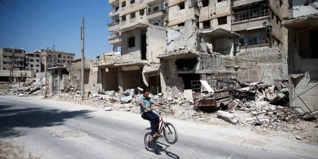 Environ «3 millions de personnes, dont le tiers en Syrie» vivent encore dans les zones occupées par l'EI.