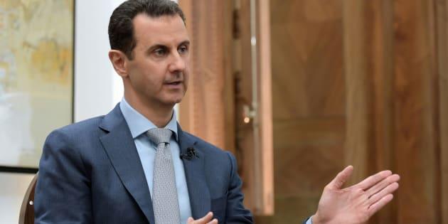 """Bachar al-Assad ironise: """"Est-ce que nous pouvons aller enquêter sur l'argent que Sarkozy a reçu de Kadhafi?"""""""