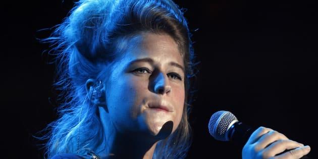 La chanteuse belge de 27 ans a vaincu la dépression et réalisé son rêve de donner la vie.