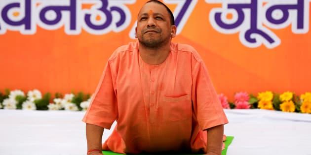 File photo of Yogi Adityanath, Chief Minister of Uttar Pradesh.