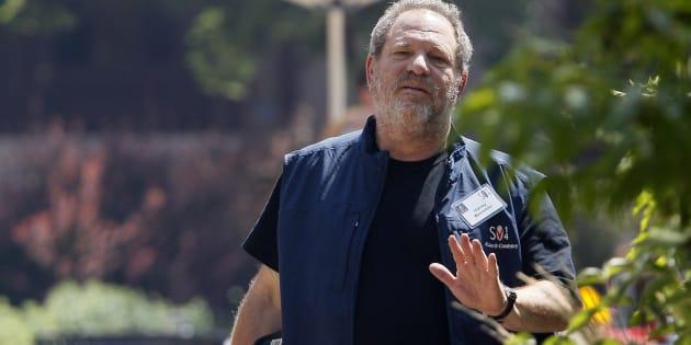 Harvey Weinstein le 9 juillet 2014, à la Sun Valley, Idaho.