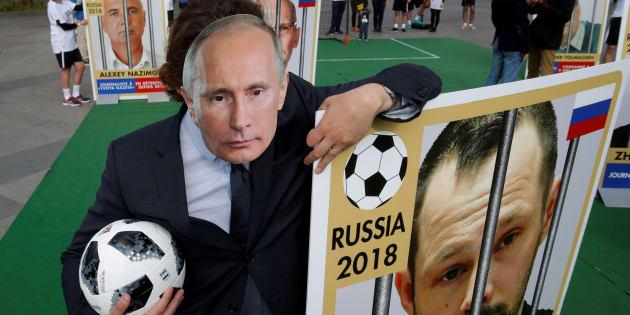 La Coupe du monde est l'outil de propagande ultime de Poutine, pensez-y quand vous la regardez.