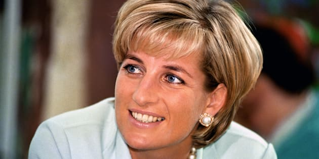 File photo of Diana, Princess of Wales on  during a visit to Leicester.