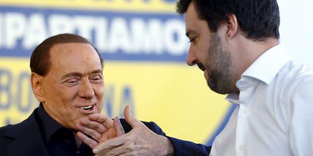 Matteo Salvini a Berlusconi: