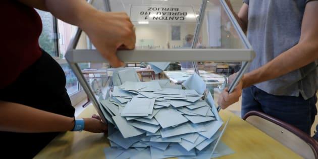 Les 6 leçons à retenir du 1er tour des élections législatives 2017