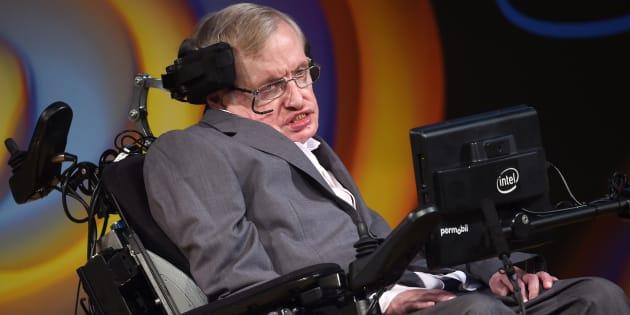 El físico Stephen Hawking, en una imagen de julio de 2017.