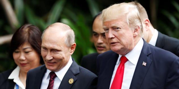 Ingérence dans l'élection: 13 Russes inculpés aux États-Unis pour complot