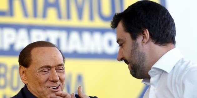 Matteo Salvini va ad Arcore. Con Berlusconi il punto su Def