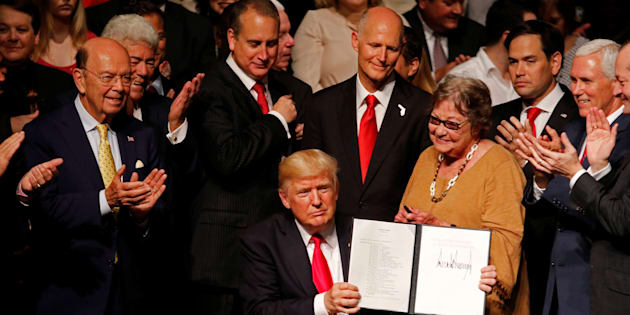 "Donald Trump ""annule avec effet immédiat"" l'accord avec Cuba mais..."