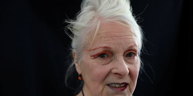 British designer Vivienne Westwood, 76, whose boundary-breaking work made her a punk icon in the 1970s.