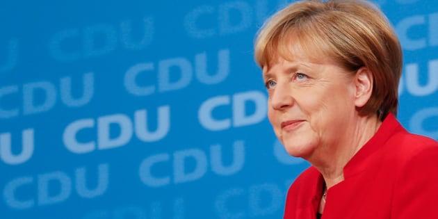 Angela Merkel candidate à sa propre succession pour un quatrième mandat à la chancellerie fédérale en Allemagne (illustration)