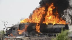 More Than 140 Killed When Oil Tanker Burst Into Flames,