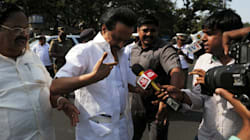 MK Stalin, 86 Other DMK MLAs Block Traffic After Being Evicted From TN