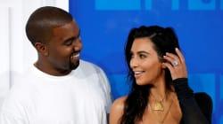 Le baiser très romantique de Kim Kardashian et Kanye West pour la