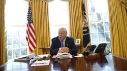 Donald Trump a un bouton rouge sous son bureau, mais pas pour ce que vous