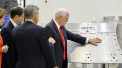 Le vice-président américain s'amuse de sa gaffe à la
