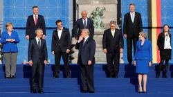 Más madera: Trump plantea que los miembros de la OTAN eleven el gasto militar al 4% del PIB, el doble de lo pedido