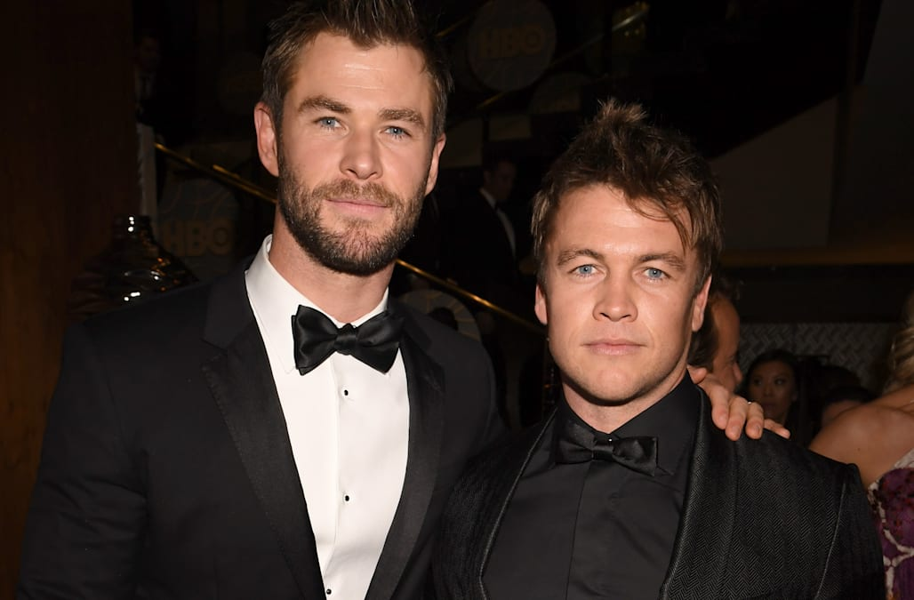 luke hemsworth on sharing parenting tips with brother chris