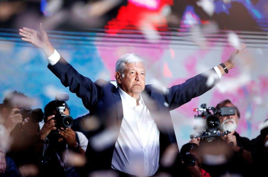 Luego de doce años, el candidato Andrés Manuel López Obrador finamente ganó las elecciones por la Presidencia de México. REUTERS/Goran Tomasevic