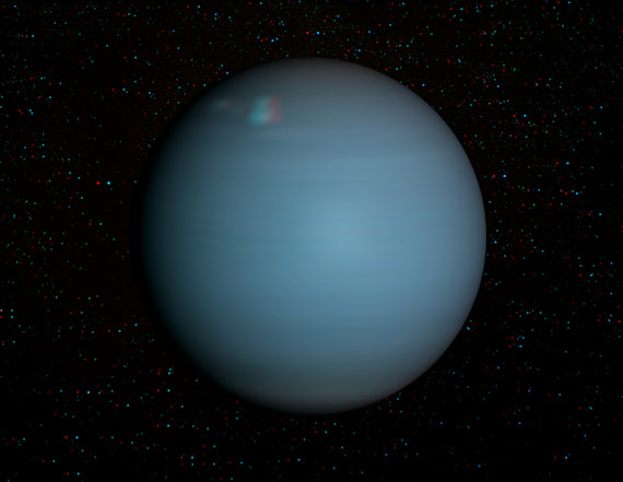 Uranus will be visible to the naked eye tonight