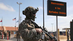 Agentes fronterizos están armados para una guerra, por la Caravana