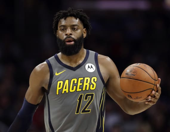 Indiana Pacers' Tyreke Evans dismissed from NBA