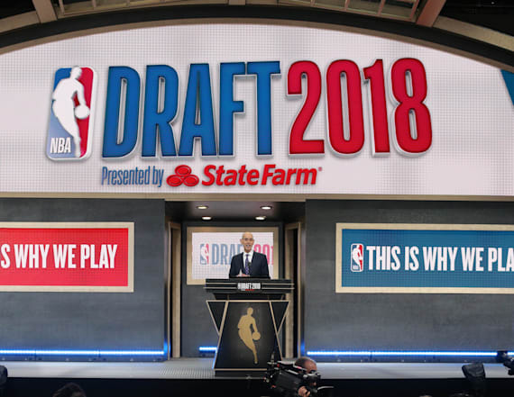 Follow along with the 2018 NBA draft live