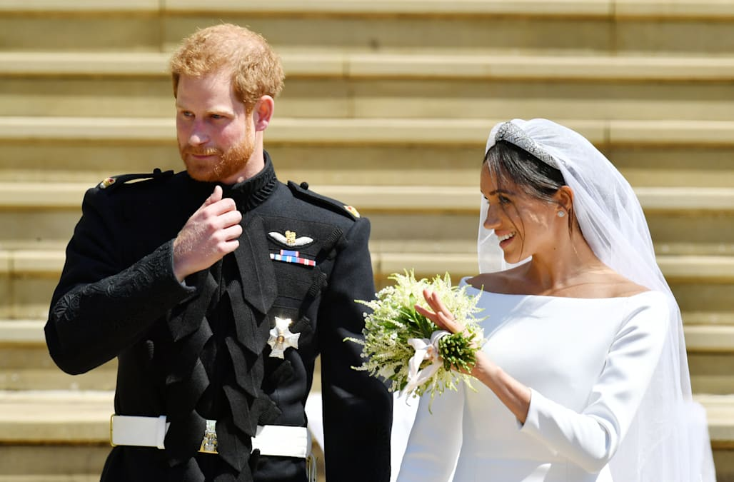 Prince Harry Wedding Reception.Prince Harry Pays Tribute To Princess Diana In Tearful