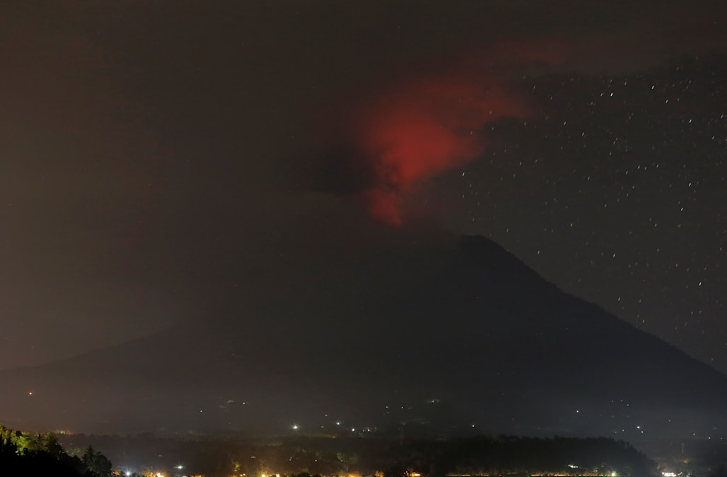 Image result for Indonesia orders immediate evacuation as highest alert issued for Bali volcano