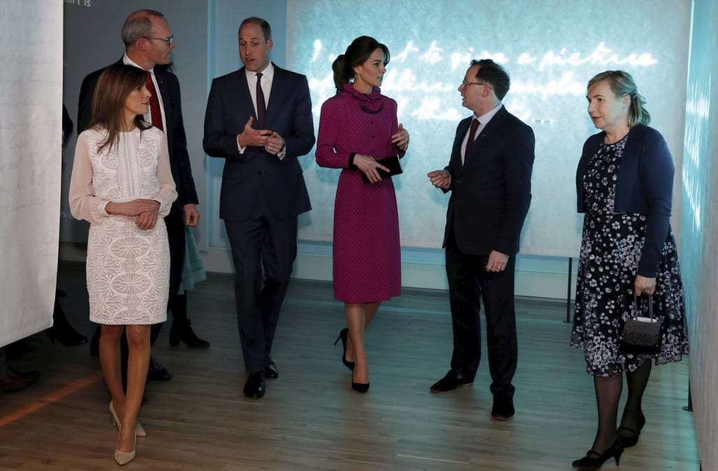 Kate Middleton rocks vintage pink dress that reminds us of Diana - AOL