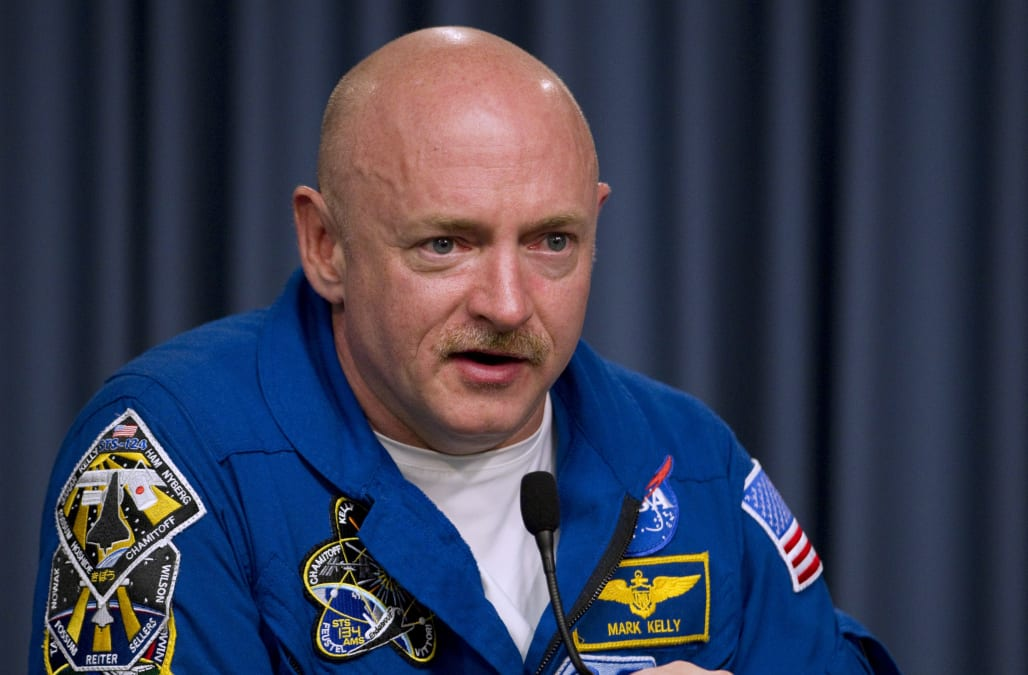 Astronaut Mark Kelly says Trump's plan to create a Space ...
