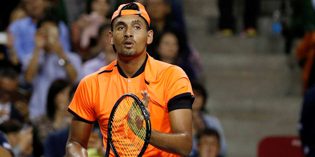 Kyrios is the first elite player suspended for behavioural issues since 1987.