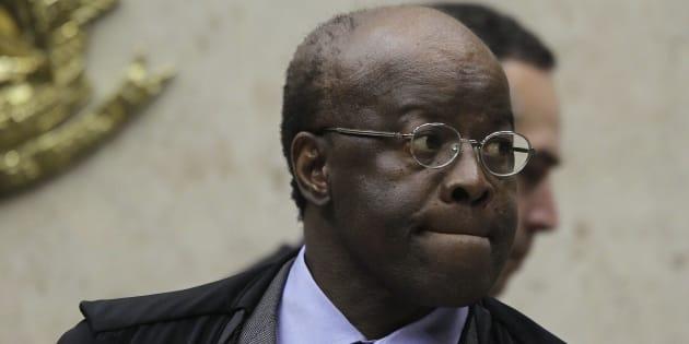Ex-presidente do STF, Joaquim Barbosa foi relator do mensalão e um dos algozes de políticos corruptos.