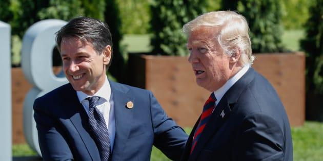 G7, Trump invita Conte alla Casa Bianca. Colloquio privato in Canada