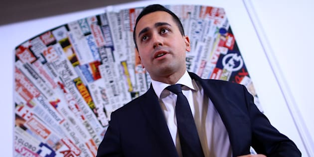 Luigi Di Maio of the 5-Star Movement attends a news conference in Rome, Italy March 23, 2017. REUTERS/Alessandro Bianchi